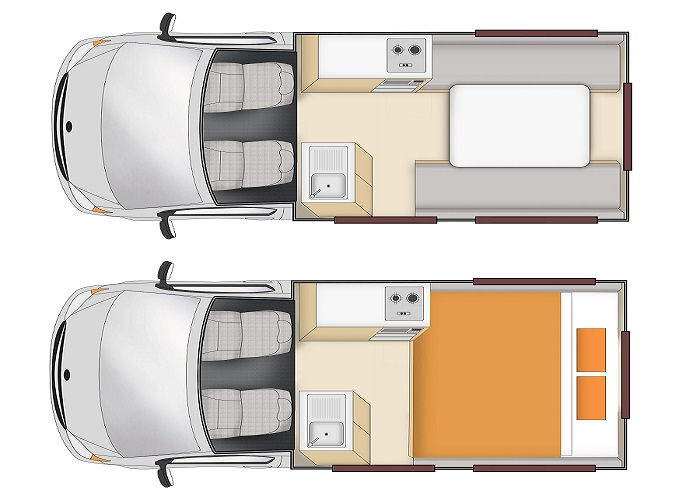 Apollo HiTop 2 Berth inside