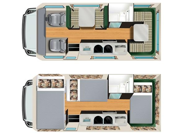Apollo Euro Deluxe camper