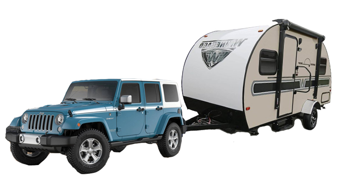 Best Time RV Jeep Trailer Class J