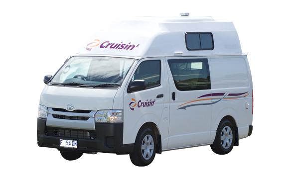 Cruisin HiTOP camper 4 berth