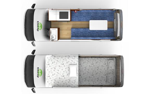 Go Cheap HiTOP 2/3 berth inside
