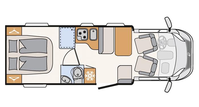 Comfort Standard interieur