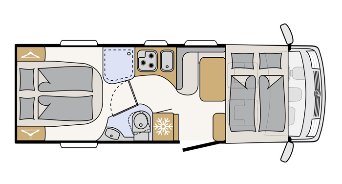 Compact Luxury interieur