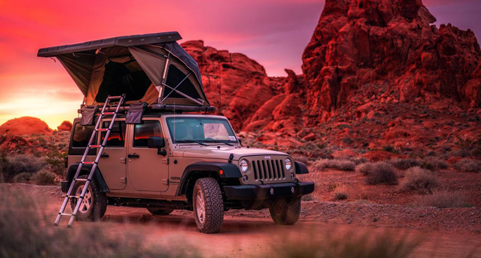 Best Time RV Jeep Explorer