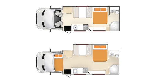 Apollo Euro Slider 4 Berth inside