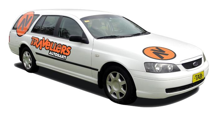 Travellers Autobarn station wagon